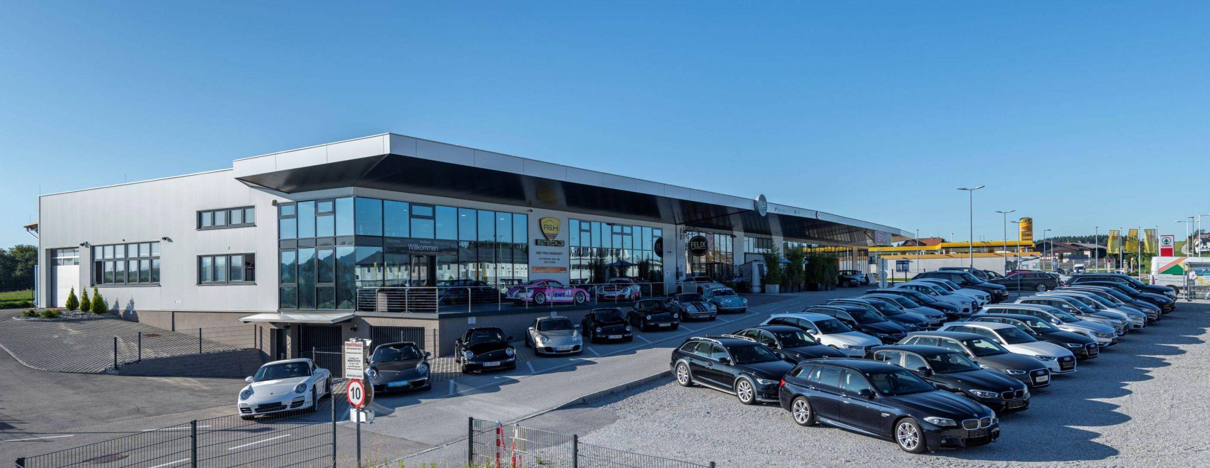 Jahres- und Gebrauchtwagen in Salzburg kaufen bei R&H Automobile